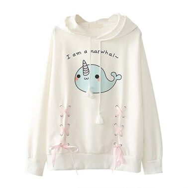 camiseta manga larga estilo kawaii ropa animal print