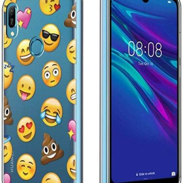 funda kawaii para movil estilo emoji