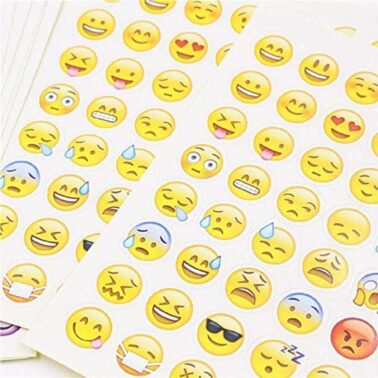 stickers y pegatinas emoji kawaii