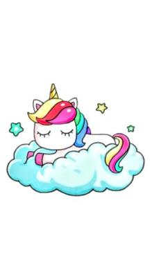 <h3>Unicornio kawaii</h3>